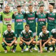 WROCLAW, POLAND - August 26: Wks Slask Wroclaw team, Slask Wroclaw vs KoronKielce on August 26, 2012 in Wroclaw, Poland. — Foto Stock #28542571
