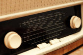 Old radio tuner — Stock Photo