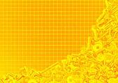 Textura de folha de papel quadriculado branco ou fundo — Foto Stock
