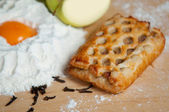 Small  fresh baked apple pie — Stock Photo