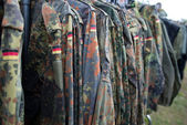 Close-up of german uniform. — Stock Photo
