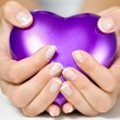 Heart in hands — Stock Photo #13376667