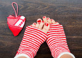 Holiday heart — Stock Photo