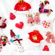 Christmas stuff collection — Stock Photo