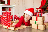 Holiday wish list — Stock Photo