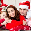 Christmas family — Foto de Stock