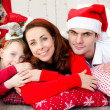 Christmas family — Foto Stock