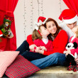Holiday family — Stock Photo