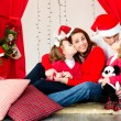Stock Photo: Holiday family