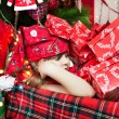 Sleep among the presents — Stock Photo #17438661