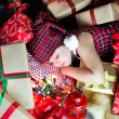 Sleep among the gifts — Stock Photo #17438671