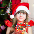 Christmas girl — Stock Photo #17438703