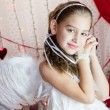 Royalty-Free Stock Photo: Angel girl