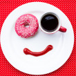 Постер, плакат: Breakfast with smile