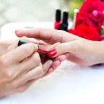 Female manicure — Stock Photo #27635983