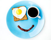 Smile for a good morning — Stock Photo