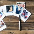 A set of photos as a beautiful keepsake — Stock Photo