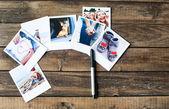 A set of photos as a beautiful keepsake — Stock Photo