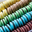 Stock Photo: Traditional french desert macaroons