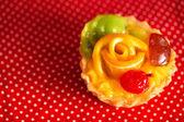 朝食のための甘いケーキ — ストック写真