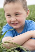 Boy in meadow — Stock Photo