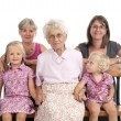 4 generation family — Foto de stock #22920334
