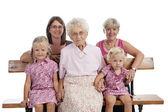 4 generation family — Stock Photo