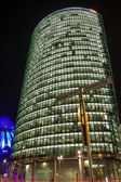 Berlin- Potsdamer Platz at night — Stock Photo