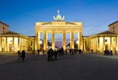 Braniborská brána berlín německo — Stock fotografie