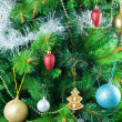 Decorated christmas tree — Stock Photo #12274698