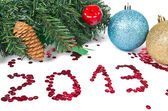 Nieuwe jaar 2013 — Stockfoto