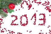 New year 2013 — 图库照片