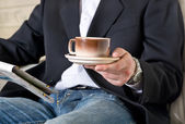 Morning coffee — 图库照片