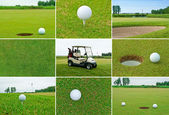 Golf set — Stock Photo