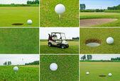 Set da golf — Foto Stock
