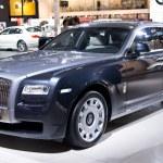 Rolls-Royce Ghost — Stock Photo