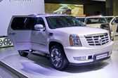 Cadillac Escalade Platinum — Stock Photo
