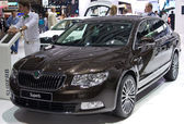 Skoda Superb — Stock Photo