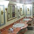 Stock Photo: Luxury public restroom