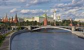 Vista panorámica al kremlin de moscú — Stok fotoğraf