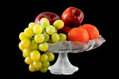 Fruits in vase — Stock Photo
