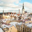 Tallinn in winter — Stock Photo