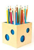 Caixa de lápis — Foto Stock