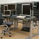 Set of monitors — Stock Photo