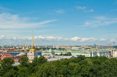 Aerial view of St.Petersburg — Stock Photo