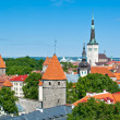 Stock Photo: Tallinn old city