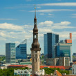 Old city of Tallinn — Stock Photo