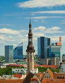 Old city of Tallinn — Stock Photo