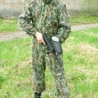 Paintball player — Foto de Stock