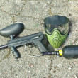 Paintball equipment — Stock Photo